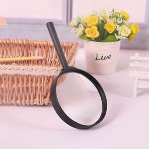 Magnifying Glass 75mm Magnifier Reading Large Lense UK Handheld Pockey Eye Aid
