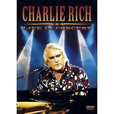 CHARLIE RICH - LIVE IN CONCERT - BRAND NEW & SEALED DVD (2006) REGION 2