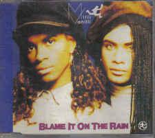 Milli Vanilli-Blame It On The Rain cd maxi single