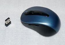 2,4Ghz Schnurlose PC Funk Maus Maus Schnurlos Notebook Lapop 10m Petrol Black