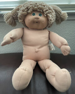 Cabbage Patch Kids Poodle Double Pony Green Eyes