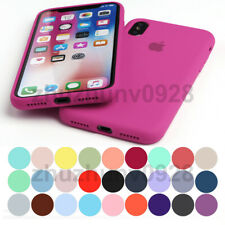 FULL PROTECT ORIGINAL SILICONE CASE FOR IPHONE 11 PRO XR XS MAX 8 7 6 PLUS COVER