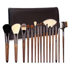 ZOREYA Makeup Brush Set 15 Piece of High End Luxury Real Walnut Handle Makeup...