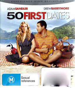 50 FIRST DATES -Rare Blu-Ray Aus Stock Comedy New