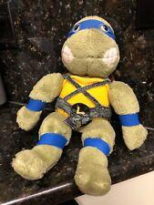 """Vintage Michelangelo Teenage Mutant Ninja Turtles 1989 Plush Playmates 14"""""""