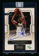2009-10 CLASSICS RODRIGUE BEAUBOIS RC BUYBACK GREEN INK AUTO MAVS #10/10 1/1!
