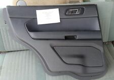 2011 - 2017 Ford Explorer LH INSIDE DOOR TRIM PANEL Left Rear , no switches