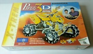 Wrebbit Puzz 3D Bombardier DS650 All Terrain Vehicle Puzzle 2001 Factory Sealed