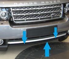 Cubierta de Ojo de remolque L322/Spliter/LABIO/ALERÓN Tira Para Range Rover 2010+ Parachoques Delantero