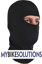 ONE HOLE BALACLAVA COTTON MOTORBIKE MOTORCYCLE SKI CYCLE  HEAD NECK WARMER MBS