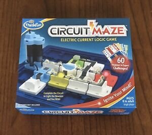 ThinkFun - Circuit Maze - Electric Current Logic Game