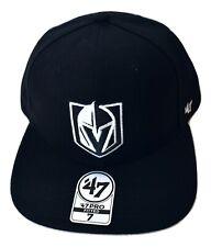 '47 Brand Mens NHL Las Vegas Golden Knights Pro Fitted Flat Brim Hat Cap New