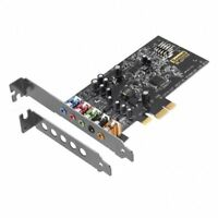 Creative Sound Blaster Audigy FX 5.1 PCI-E Sound Card SBX Pro Studio Low profile