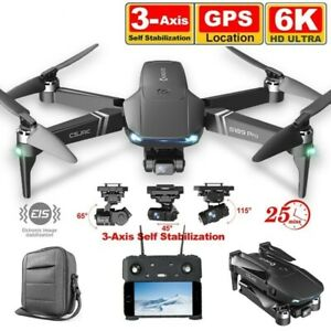 RC Camera Drone 6K GPS 3KM Long Distance 5G WIFI Professional Quadcopter
