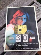 Textar Bremsbeläge Kalender Original 70er