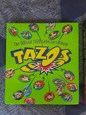 TAZO COLLECTORS ALBUM COMPLETE WITH ALL TAZO'S