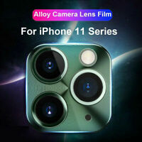 For Phone 11 Pro Max Camera Lens Screen Metal Tempered Glass Film Protector Hot