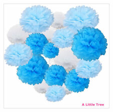 9/12/18 PCs Tissue Paper  Pom Poms Pompom Fluffy Flower Ball Party Decoration