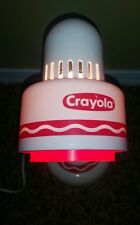 Vintage 80's Crayola Crayons Light Desk Lamp Child Advertising