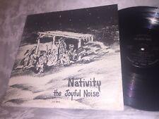 NATIVITY  - THE JOYFUL NOISE - RARE 1975 PRIVATE PRESS LP - CHRIST IS THE ANSWER