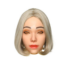 IMI Cathy Realistic Silicone Female Mask Full Head Mask Halloween Crossdresser