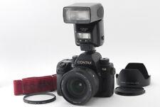 【Exc+++】CONTAX N1 35mm SLR camera black  w/Vario Sonnar 24-85mm f3.5-4.5  Japan