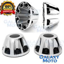 "11-16 GMC Sierra DUALLY Model Chrome 17"" 2x REAR set Wheel Center Hub Cap Cover"