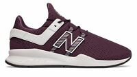 New Balance Men's 247V2 Deconstructed Shoes Purple With White