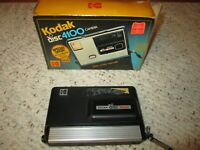 1980's Kodak Disc 4100 Camera W/Box!!!