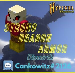 Hypixel Skyblock Strong Dragon Armor Fast and Safe Delivery