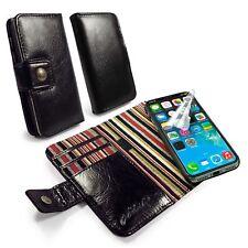 Alston Craig Fino magnético carcasa RFID Cuero Estilo Vintage Funda para Iphone