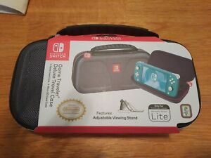 Deluxe Traveler Game Case - Gray, Nintendo Switch Lite with Game Card Case