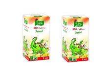 Fenouil thé pour les bébés de 1st semaine de l'âge. Pack De 20 Filtre Intercalai...