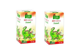 Fennel Tea for Babies from 1st Week of Age. Pack of 20 Filter teabags. Set of 2.