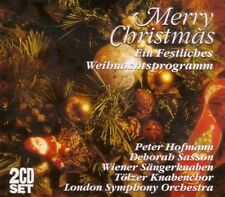 Merry Christmas-Ein festliches Weihnachtsprogramm Peter Hofmann/LSO, Tö.. [2 CD]