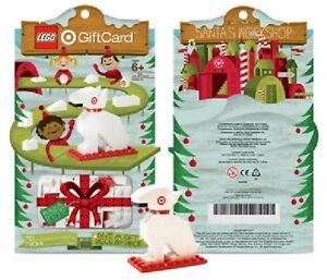 NEW LEGO BUILD-A-BULLSEYE TARGET DOG 2010 RETIRED SET 4613985 GIFT CARD X-MAS