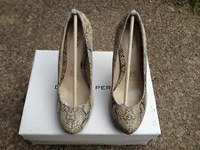 Ladies Leopard  Leather Shoes size 4(37) Dorothy Perkins