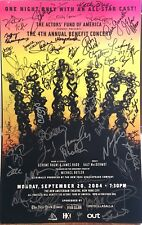 Jennifer Hudson, Billy Porter ++ Signed HAIR 2004 Broadway Benefit Poster RARE