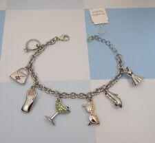 Lia Sophia Handbag, Heels, Phone, Ring, High Fashion Charm Bracelet New In Box