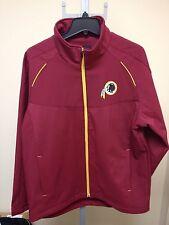 Washington Redskins MEN S Burgundy Halfback Zip Jacket Large Sample NWOT  G-III 8d0770b16