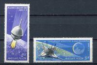 32234) HUNGARY 1966 MNH** Luna 9 - 2v Scott# 1738/39
