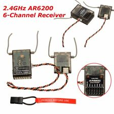 AR6200 6 Channel DSM2 2.4GHz Receiver Ultralite For Spektrum Spek Generic New