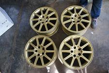 """JDM ENKEI 17"""" OEM wheels pcd114.3x5 Subaru impreza Sti v8 v9 BBS prodrive oz wrx"""