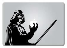 Star Wars Darth Vader Holding Apple Macbook Laptop Decal Vinyl Sticker