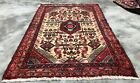 Authentic Hand Knotted Vintage Ceena Wool Area Rug 4 x 3 FT (2302 KBN)