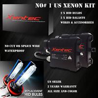 Xentec HID KIT SLIM 9007 10000K Deep Blue Beam Headlight Conversion Light kit