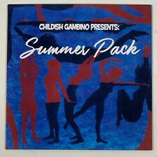 "Childish Gambino Summer Pack EP 7 Inch Vinyl Limited Black 7"" Record"