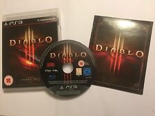 SONY PLAYSTATION 3 PS3 GAME DIABLO III / 3 +BOX & INSTRUCTIONS COMPLETE PAL
