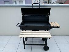 Barbecue carbonella legna Affumicatore esterno Griglia Coperchio trasportabile