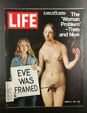 LIFE Magazine: 'The Woman Problem' by Richard Gilman, August 11th 1971
